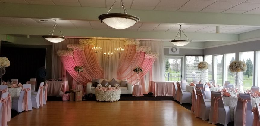Event Space w/ Chair Covers