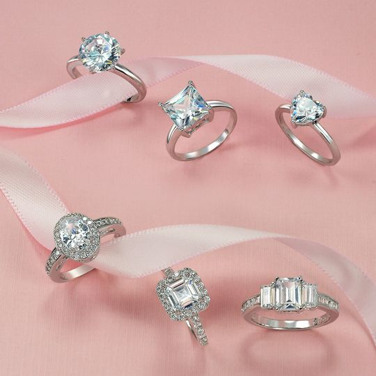 shop by shape engagement rings