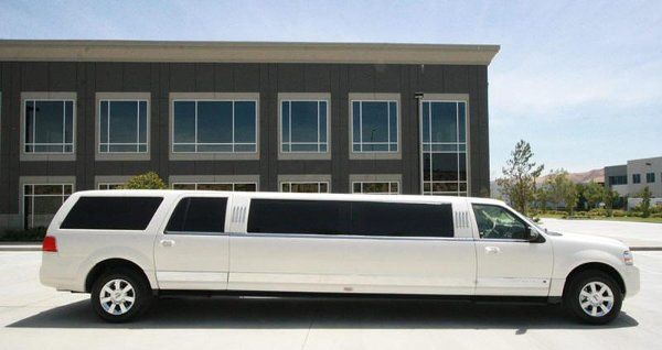 Right side of the limo