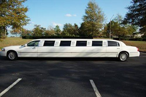 Left side of the limo