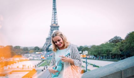 Proposal & Elopement in Paris 1