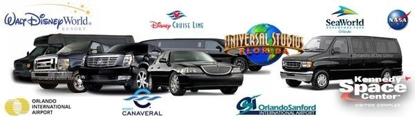 Limo Service in Orando and limousine serivce in Kissimmee Fl