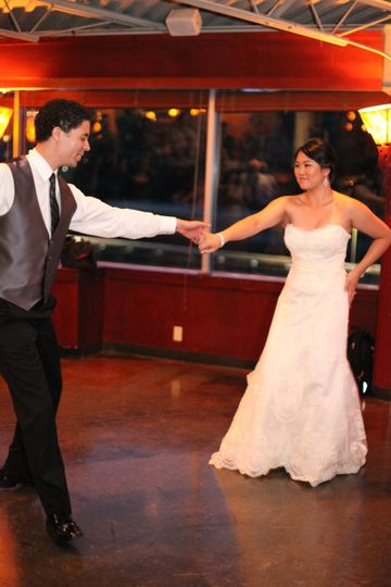 First Dance at The Canal