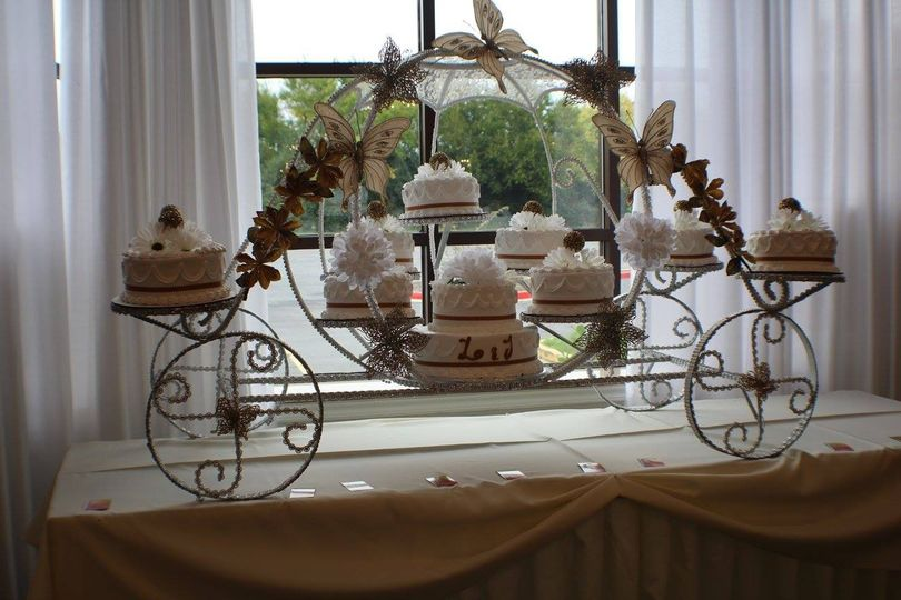 Wedding cakes area