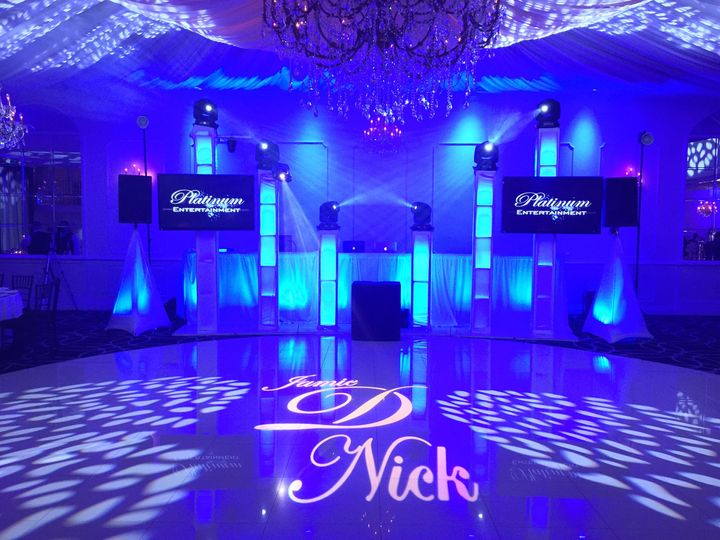 Lighting and floor projection