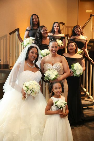 Stephanie and Bridal Party, Ch