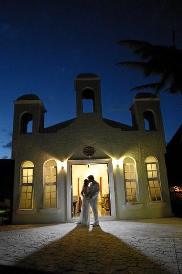 Beach Front Wedding Chapel at the El Dorado Maroma