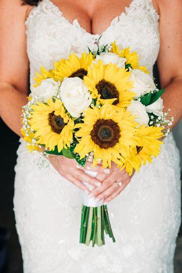 Sunflower bride