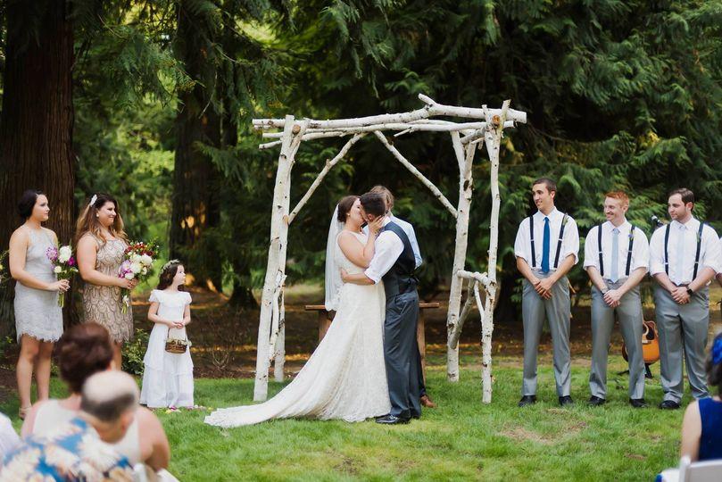 Cedarville Lodge Venue Gresham Or Weddingwire
