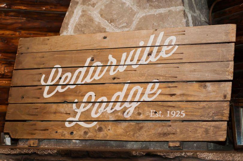 Cedarville Lodge Unveil
