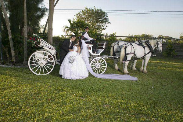 Tmx 1294936782656 Visaviscarriage058 Miami wedding transportation