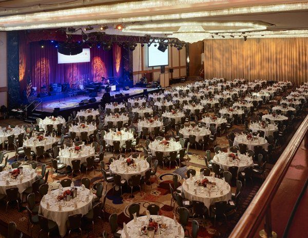 The Hilton New York's spectacular Grand Ballroom