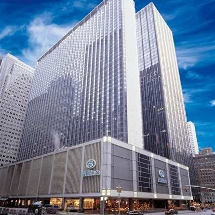 Exterior view of the New York Hilton Midtown