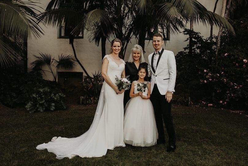 Garden wedding at SB Corthouse
