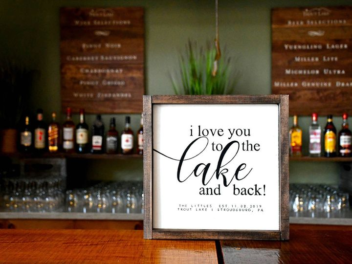 Tmx Jackson Lake Sign On Bartop 51 121350 158325034423334 Stroudsburg wedding venue