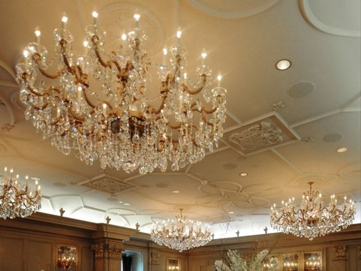 Tmx 1459969359356 Ballroom With White Flowers Asheville, NC wedding venue
