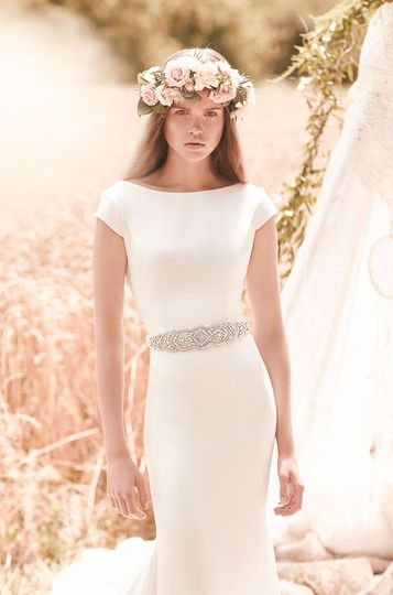 style 2061 front mikaella bridal wedding dress bri