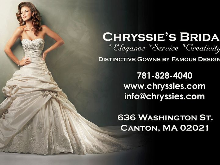 Tmx 1387489629056 Chryssies  Canton wedding dress