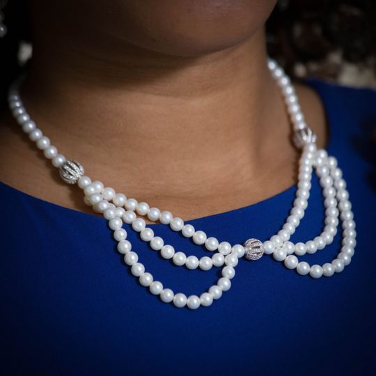 PRECIOUS PEBBLES A very feminine and elegant creation to enhance any outfit.  This is one of those...