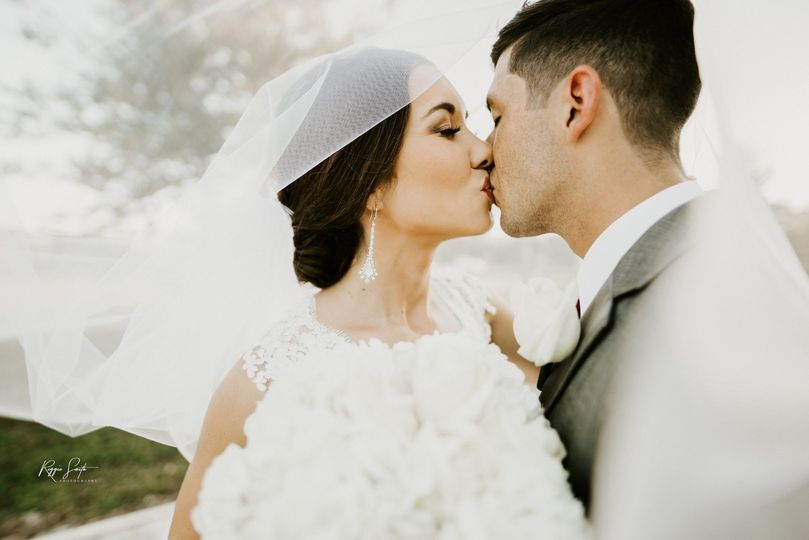 The bride and groom (Port Saint Joe, Florida)