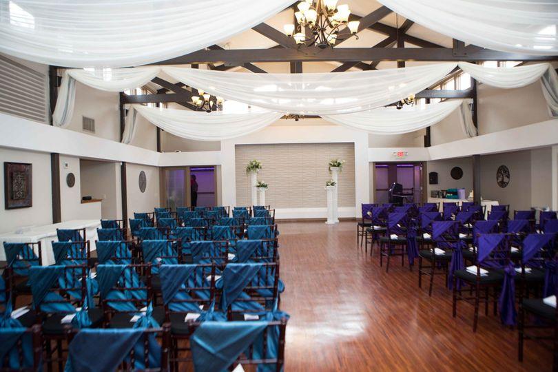 rosehenge hall ceremony seating