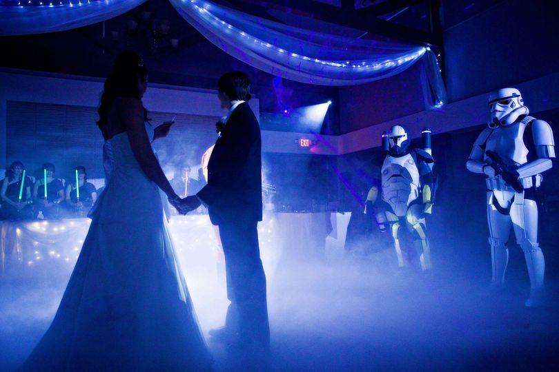 rosehenge star wars wedding