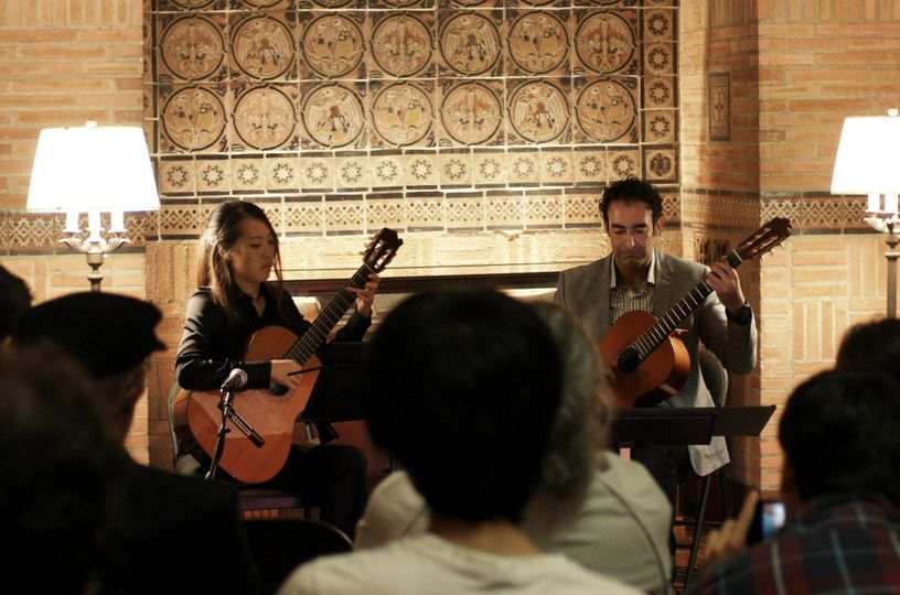 Duo Performance at the UCLA Powell Library, Concerts in the Rotunda Series.  (7th performance in 10...
