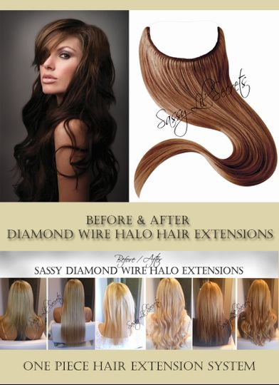 Sassy Lil Secrets Instant Hair Extensions Beauty Health