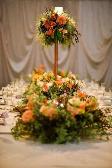 Fall Wedding Alter pieces