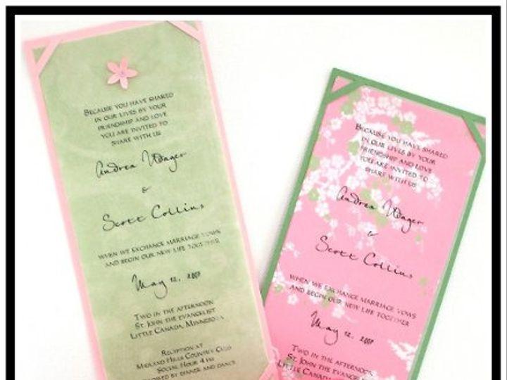 Tmx 1206751299435 Bright2Website Long Lake wedding invitation
