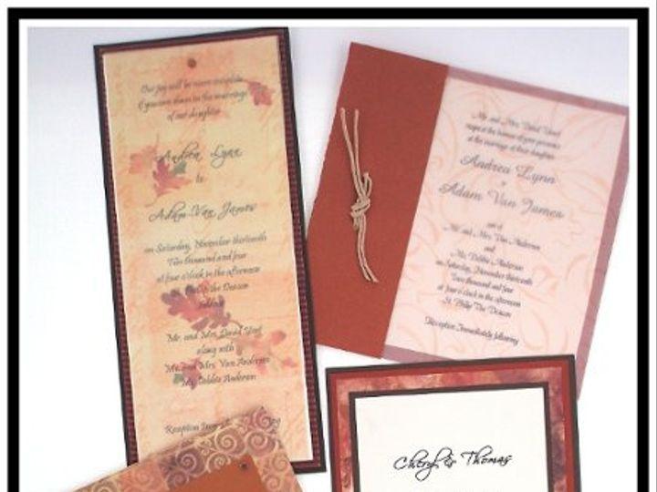 Tmx 1206751528325 BrownWebsite Long Lake wedding invitation