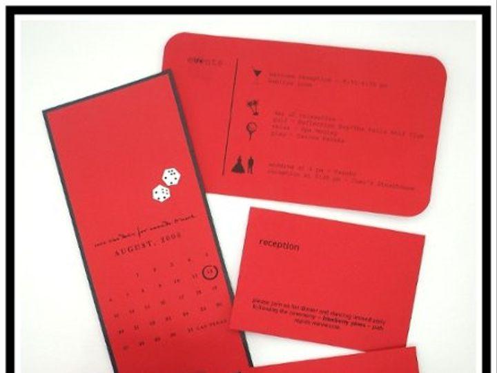 Tmx 1206751627138 RedWebsite Long Lake wedding invitation