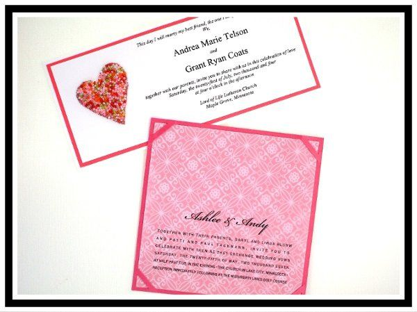 Tmx 1206751725856 HeartWedding Long Lake wedding invitation