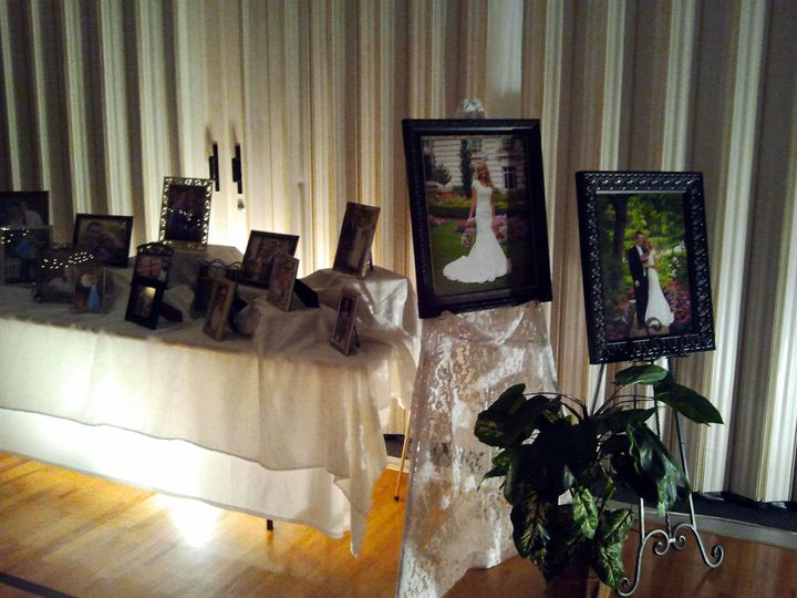 Sample of our picture table options.