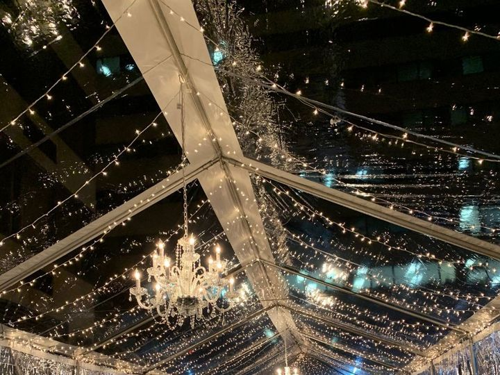 Tmx Large Crystal Chandelier In Clear Tent With Twinkle Lights 51 31450 158508381887398 Kensington, MD wedding rental