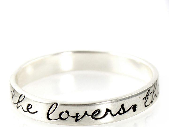 Tmx 1444173635455 Custom Stamped Stacking Ring 1 La Mesa wedding jewelry