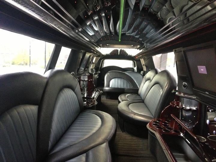 Tmx 1417722058593 Interior Of Black Escalade Kansas City wedding transportation
