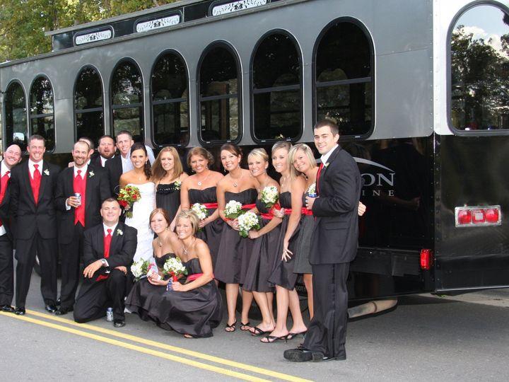 Tmx 1417722458317 Trolley Limo 10 Kansas City wedding transportation