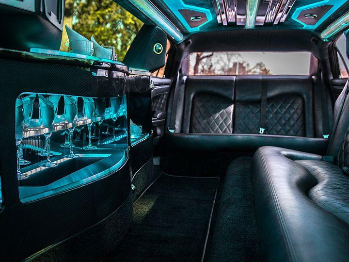 Tmx 1486776956666 Interior Of Black Chrysler 300 1 Kansas City wedding transportation