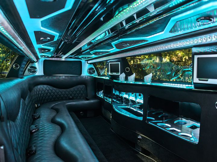 Tmx 1486776999523 Interior Of Black Chrysler 300 Kansas City wedding transportation