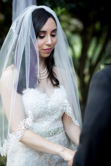 Bride during the wedding