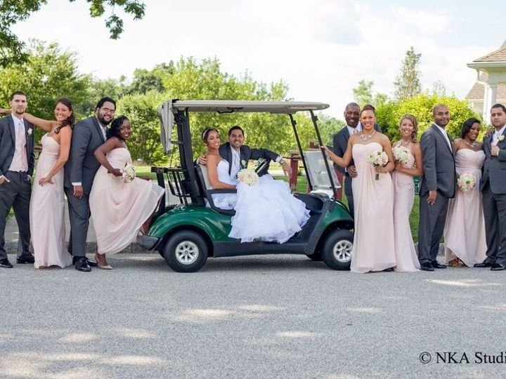 Tmx 1445282888344 Stitt Rivera Bridal Party Golf Cart Color Phoenixville, PA wedding venue
