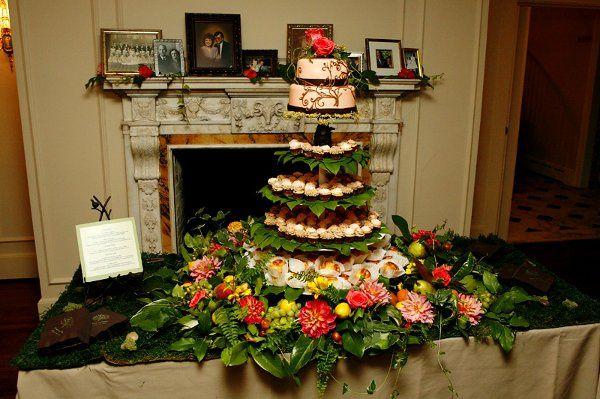 Tmx 1262910162333 Enchantedtower Seattle wedding cake