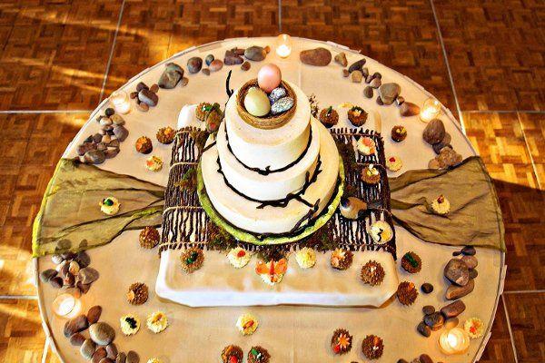 Tmx 1262910179489 NaturalCake Seattle wedding cake