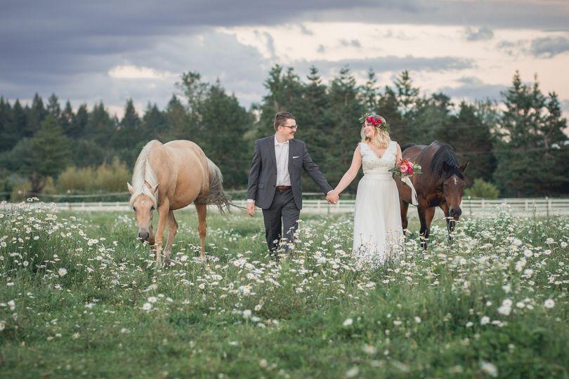 wedding photography horses portland oregon 1463