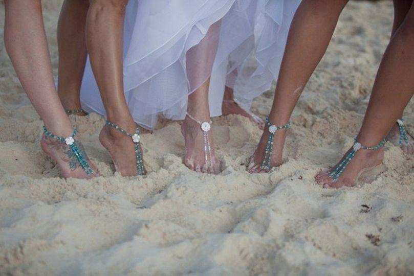 Jewels by Jan Elegant Bridal Foot Jewelry