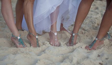 Jewels by Jan Elegant Bridal Foot Jewelry