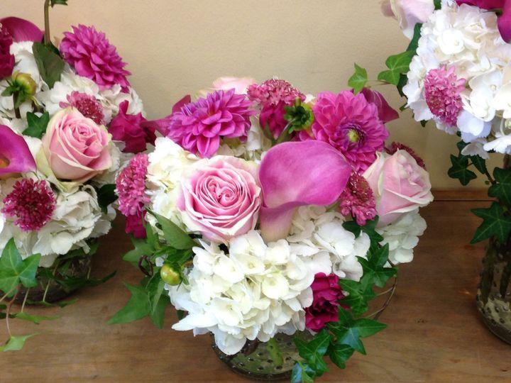 Tmx 1406288445704 Garden Style Knob Vase Short Harrison, NY wedding florist