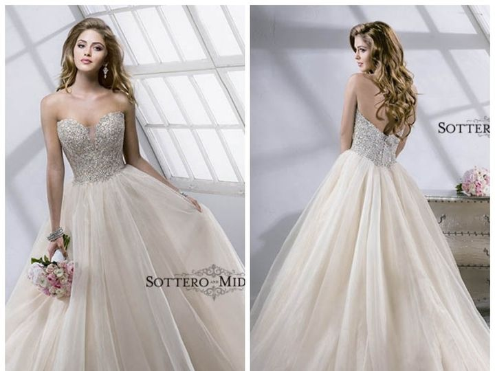 Tmx 1393116690684 Angelette Front And Bac Rancho Cucamonga, CA wedding dress