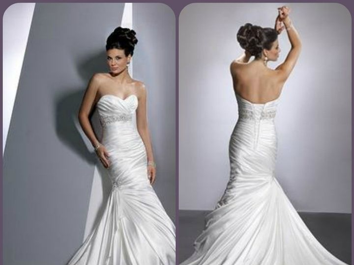 Tmx 1393116853251 Adorae Front And Bac Rancho Cucamonga, CA wedding dress
